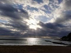 海遊亭からの初日の出